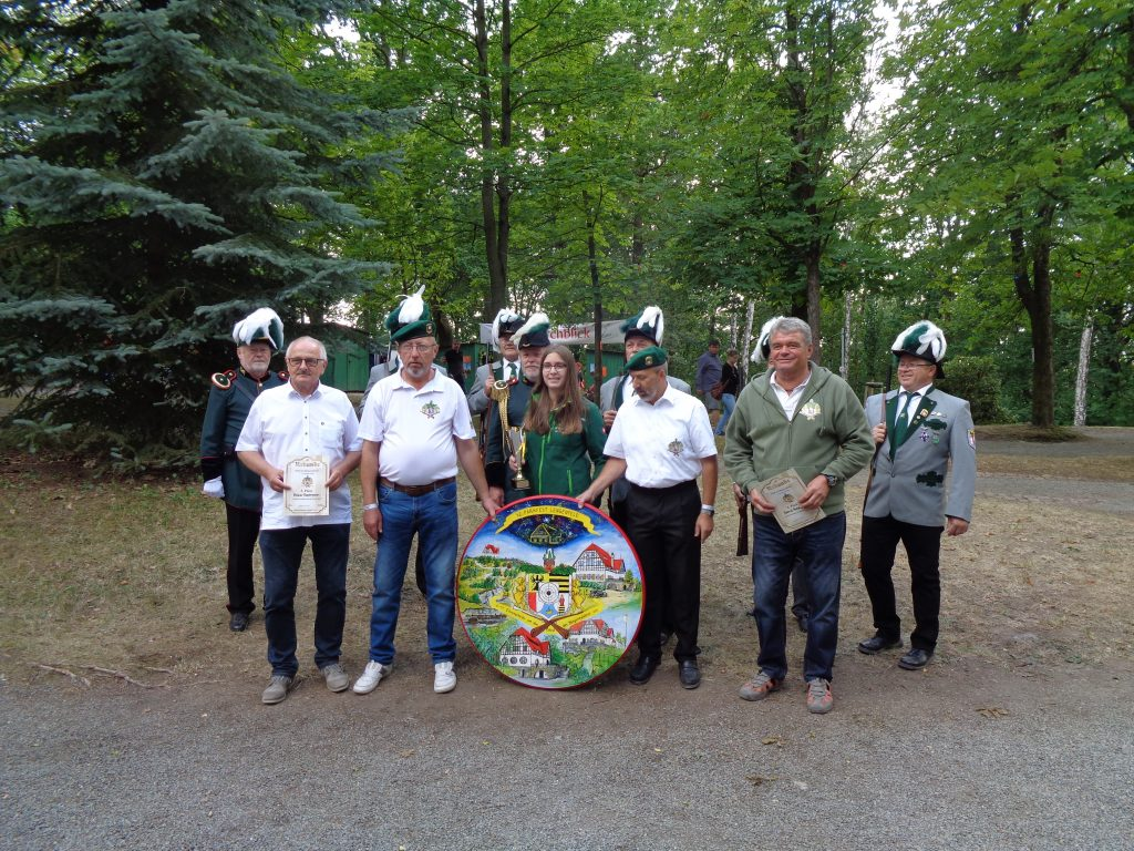 Parkfest 2019 Sieger Pokal des Bürgermeisters